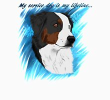 DUNCAN - My Service Dog is My Lifeline Unisex T-Shirt