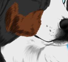 DUNCAN - My Service Dog is My Lifeline Sticker