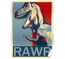RAWR! American TREX Hope Spoof Poster
