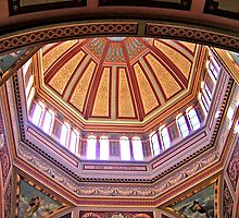 Interior, Royal Exhibition Buildings, Melbourne by Roz McQuillan