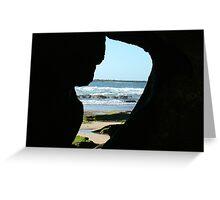 Caves Beach Australia Greeting Card