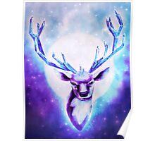 Crystal Deer Poster