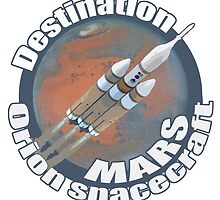 Orion spacecraft destination Mars by saltypro