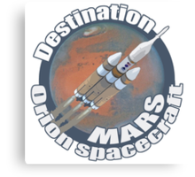 Orion spacecraft destination Mars Canvas Print