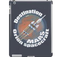 Orion spacecraft destination Mars iPad Case/Skin