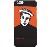 1920s Buster Keaton Portrait iPhone Case/Skin