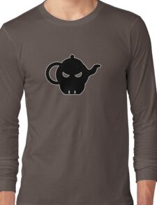 angry teapot 3 Long Sleeve T-Shirt