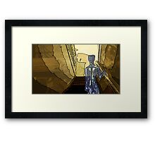 The noises one hears when alone Framed Print