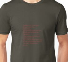 Fiction is Learning Unisex T-Shirt