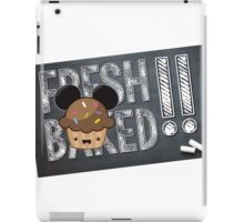Fresh Baked Muffin on Chalk iPad Case/Skin
