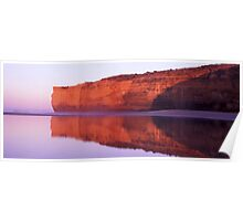red cliff mirror Poster