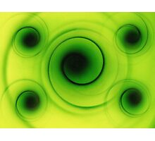 Abstract Shapes Photographic Print