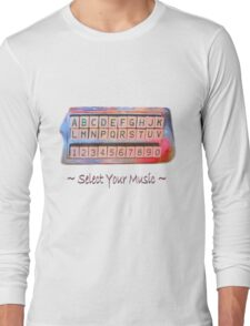 Select Your Music Long Sleeve T-Shirt