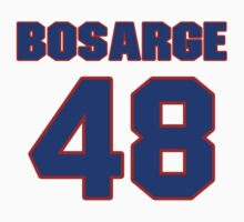 National football player Wade Bosarge jersey 48 by imsport