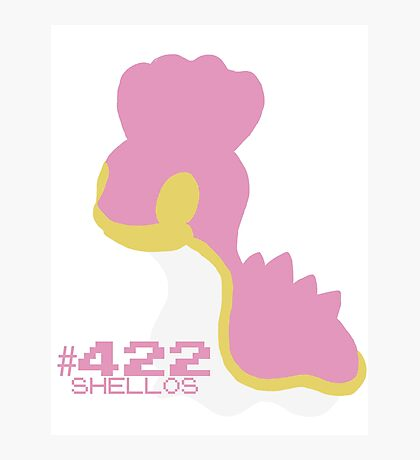 SHELLOS! POKEMON Photographic Print