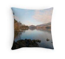 Thirlmere in spring Throw Pillow
