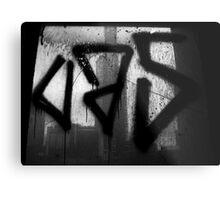Juxtaposition (Eureka & Graffiti) Metal Print