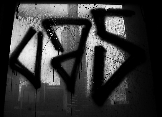 Juxtaposition (Eureka & Graffiti) by Jonathan Russell