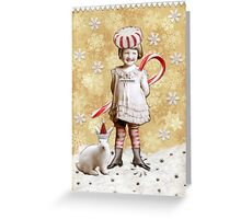Peppermint Patsy Greeting Card