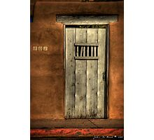 A Passageway to the Past--The Doors of Santa Fe 1 Photographic Print