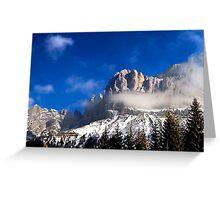Brenta Dolomites Greeting Card