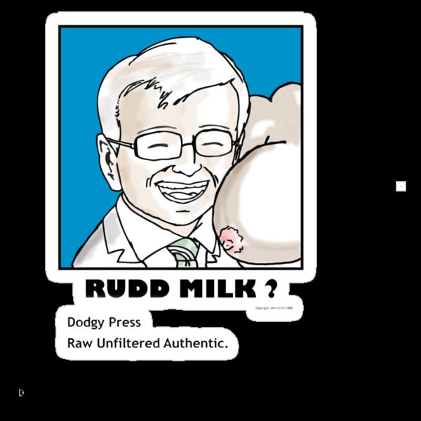Rudd Milk by Dodgypress