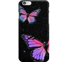 Butterflies at Night iPhone Case/Skin