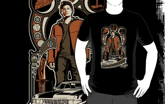 Dean Winchester Nouveau by Tracey Gurney