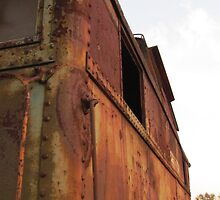 Rusty caboose by stlmoon