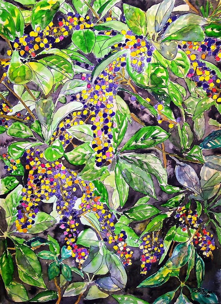 Berry Tree by derekmccrea