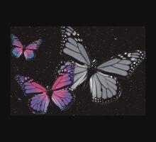 Butterflies at Night Kids Tee