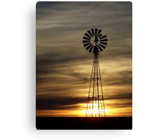 Caramel Colored Windmill Canvas Print