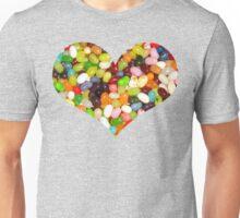 Jelly Bean Heart Unisex T-Shirt