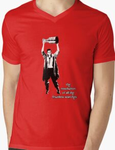 to know the Stanley Cup is to love him.... Mens V-Neck T-Shirt
