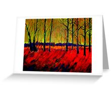 AUTUMN FLAME 1 Greeting Card