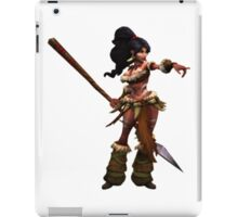 Nidalee - the Bestial Huntress League Of Legends iPad Case/Skin