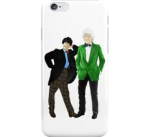 Doctor Who - Doctors 2 and 3 iPhone Case/Skin