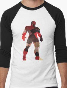 robot silhouette tshirt  Men's Baseball ¾ T-Shirt
