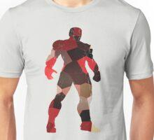 robot silhouette tshirt  Unisex T-Shirt