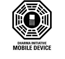 Dharma Initiative Mobile Case by READY PLAYERTWO