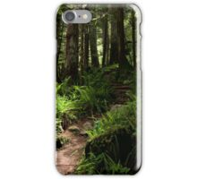 Trail to Green Lake - Mt. Rainier N. P. iPhone Case/Skin