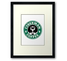 DR COFFEE 3 Framed Print