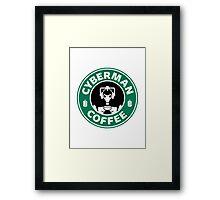 DR COFFEE 3 Framed Print