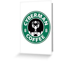 DR COFFEE 3 Greeting Card