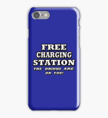 FREE CHARGING STATION iPhone Case/Skin
