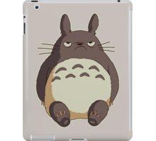 Grumpy Totoro iPad Case/Skin