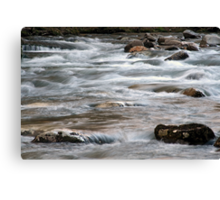River Rapids Canvas Print
