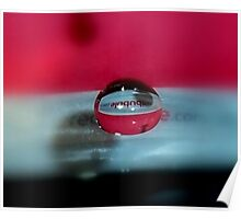 redbubble droplet Poster