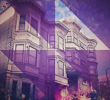 SF Victorian Sky with Purple Vortex by Artsygirl28