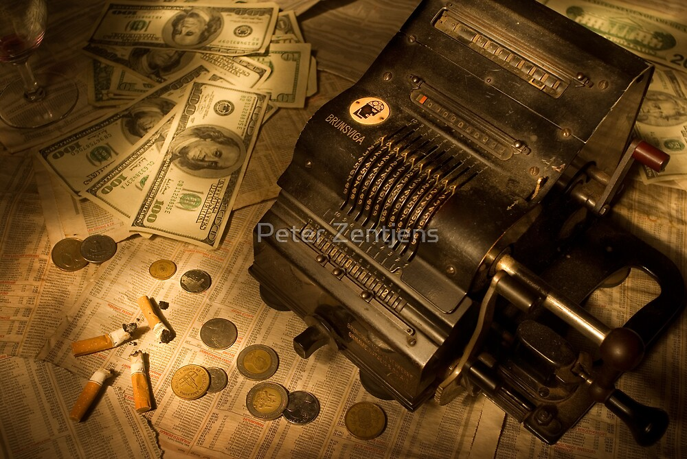The stock market by Peter Zentjens